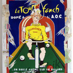"59 ""Le tour de Fanch"" acrylique et collage/toile 2007 900€"