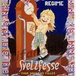 """38 """"Sveltfesse"""" acrylique et collage/toile 100x80cm 2006 900€"""