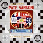 """68 """"Paté Sarkoni"""" acrylique/toile 100x100cm 2008 1200€"""