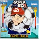 """85 """"Super Mariole"""" acrylique/toile 100x100cm 2010 1200€"""