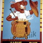 """13 """"La vache qui cuit"""" acrylique/toile 80x60cm 2004 600€"""