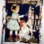 """24 """"Foie de morue"""" acrylique/toile 100x80cm 2004 900€"""