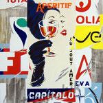 "69 ""Capitalo"" acrylique/toile 80x60cm 2008 vendu"