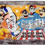 "86 ""Nico Richard"" acrylique/toile 120x80cm 2010 1200€"