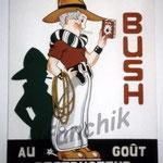 """21 """"Bush"""" acrylique/toile 80x60cm 2004 600€"""