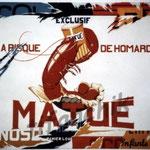 """30""""Matué"""" acrylique/toile 150x110cm 2004 collection de moi"""