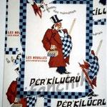 "19 ""Per'kilucru"" acrylique/toile 80x60cm 2004 600€"