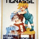 """7 """"Tignasse"""" acrylique/toile 100x80cm 2003 900€"""