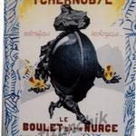 """27 """"Tchernobyl"""" acrylique/toile 80x60cm 2004 600€"""