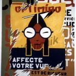 """20  """"Optimiro"""" acrylique/toile 60x50cm 2004 500€"""