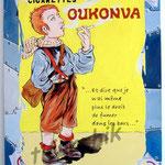 "65 ""Oukonva"" acrylique et collage/toile 80x60cm 2007 600€"