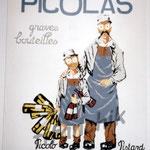 """15 """"Picolas"""" acrylique/toile 110x90cm 2003 collection de moi"""