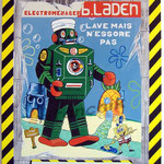 "99 ""B. Laden"" acrylique/toile 100x80cm 2011  900€"
