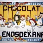 "23 ""Lénosdekana"" acrylique/toile 100x75cm 2004 vendu"