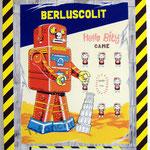 """100 """"Berluscolit"""" acrylique/toile 100x80cm 2011 900€"""