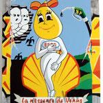 """95 """"La n'essence de Vénus"""" acrylique/toile 80x60cm 2010  600€"""