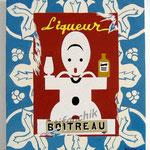 """26 """"Boitreau"""" acrylique/toile 40x36cm 2005 300€"""