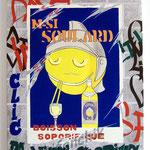 """84 """"M-si soulard"""" acrylique/toile 80x60cm 2009 600€"""
