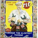 """54 """"Pif Gadget 2"""" acrylique et collage/toile 100x80cm 2007 900€"""