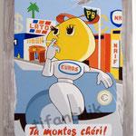 """96 """"Tu montes chéri !"""" acrylique/toile 80x60cm 2010  600€"""