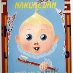 "34 Nakunedan"" acrylique/toile 80x60cm 2005 600€"
