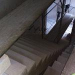 Neue Treppe Zugang Sauna