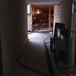 Durchgang Sauna