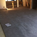 Bodenbelag Eingangsbereich