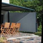 store de terrasse et Protection latérale rétractable