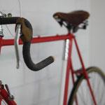 Vintage auch das Rad - original von 1972. Es wird seit Jahren gehegt und gepflegt.