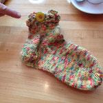 Socken mit Knopfversion von Sandra