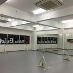 バレエスタジオ施工