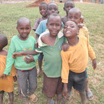 Kinder in Mbiirizi