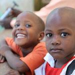 Kinder in Mbiirizi