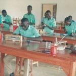 Unterricht im Labor
