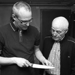 Claudio Meng und sein Vater Hans Meng (rechts im Bild).
