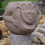 Fabeltier, violetter Sandstein