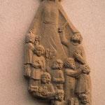 Wandrelief Schutzmantelmadonna, Sandstein