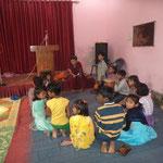 Unterweisung für Kinde