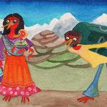 Remembering Willi, Antschana and me 1981 in Kathmandu