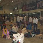 Bahnhof in Varanasi