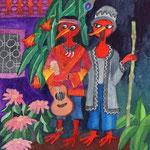 peruan and japanese musicans coming to Shekina chrismas