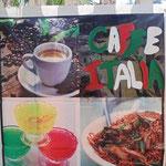 dann einen italienischen Espresso