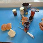 unser Goa Frühstück