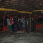 Versammlung im Sewa Ashram
