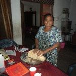 Somvati, kommt jeden Tag zum kochen
