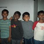 meine Boygroup, Anuj, Pres, Prianju und Abhay