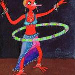 Hula Hup, mein Bestseller von den Postkarten