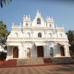 Kirche in Arambol, die Portugiesen waren bis 1961 da
