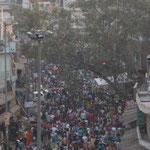 der Bazar von Paharganj vor Divali